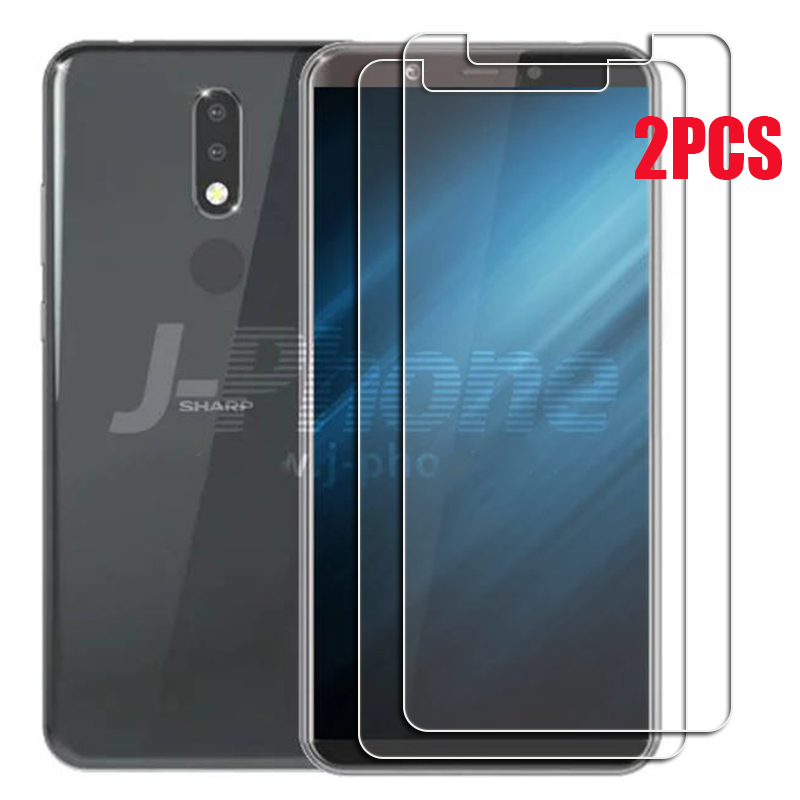 2PCS FOR Sharp Aquos V  High HD Tempered Glass Protective On AquosV SH-C02 Screen Protector Film