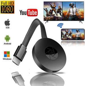 Dongle Tv-Stick Streamer Wifi-Display Hdmi-Media-Video Chromecast Smart-Tv Digital Mirascreen