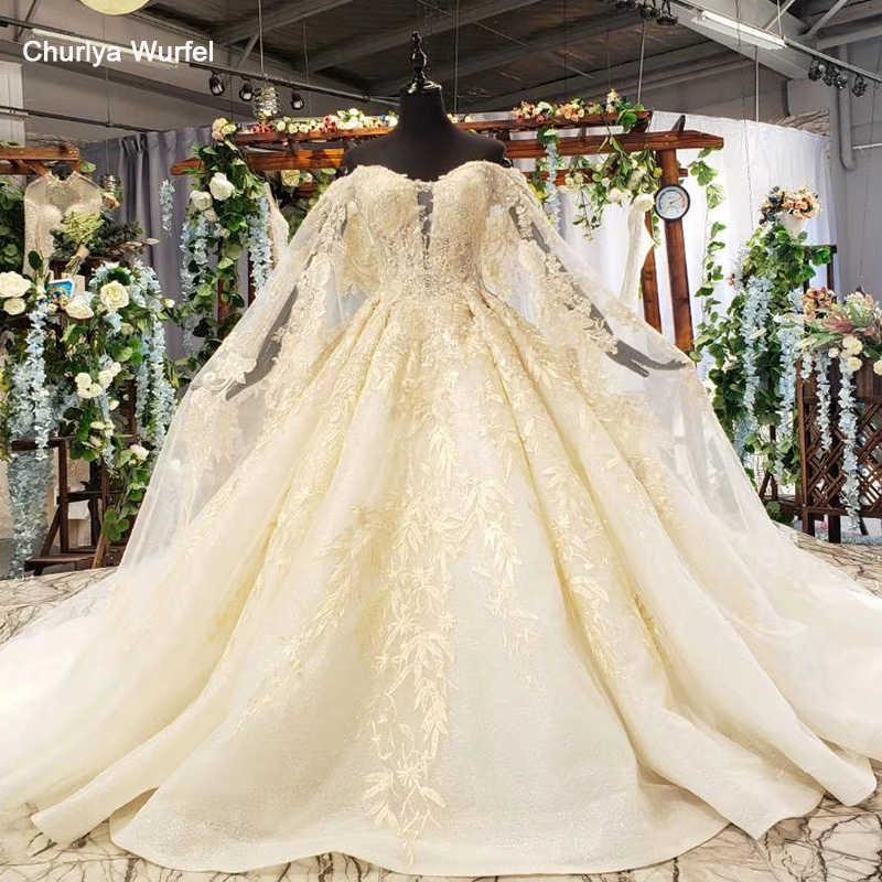 HTL644 vestidos de novia largos tren corazón apliques ilusión fuera del hombro plisado mujeres vestido de boda bata de mariee boheme