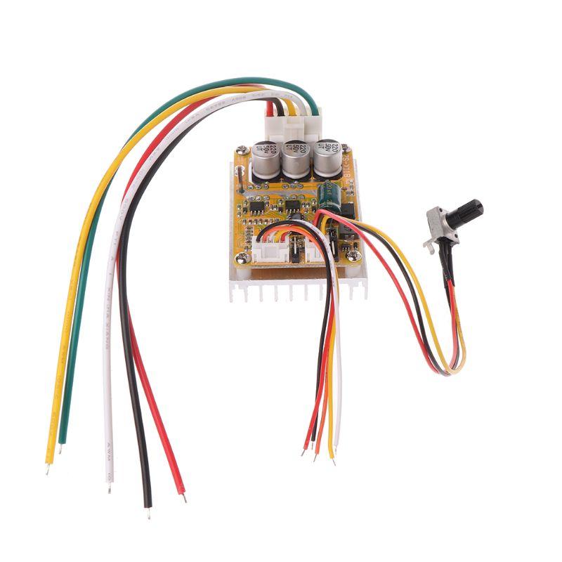 350W 5V-36V DC Motor Driver BLDC Brushless Controller Wide Voltage High Power I
