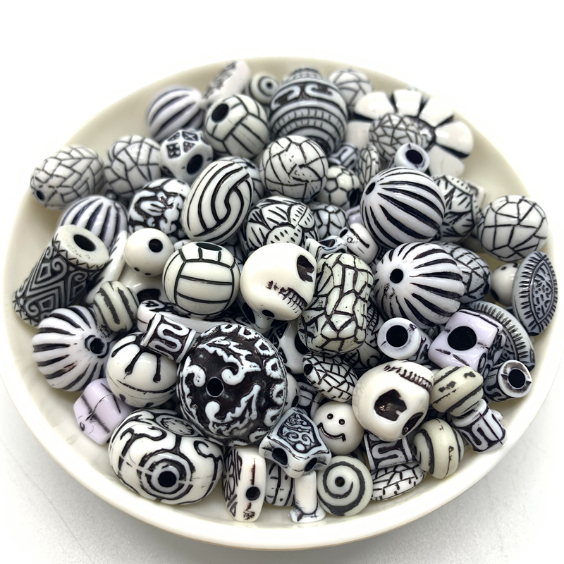 Wholesale New 20g Acrylic Beads Mixing Beads Style For DIY Handmade Bracelet Jewelry Making Accessories#27