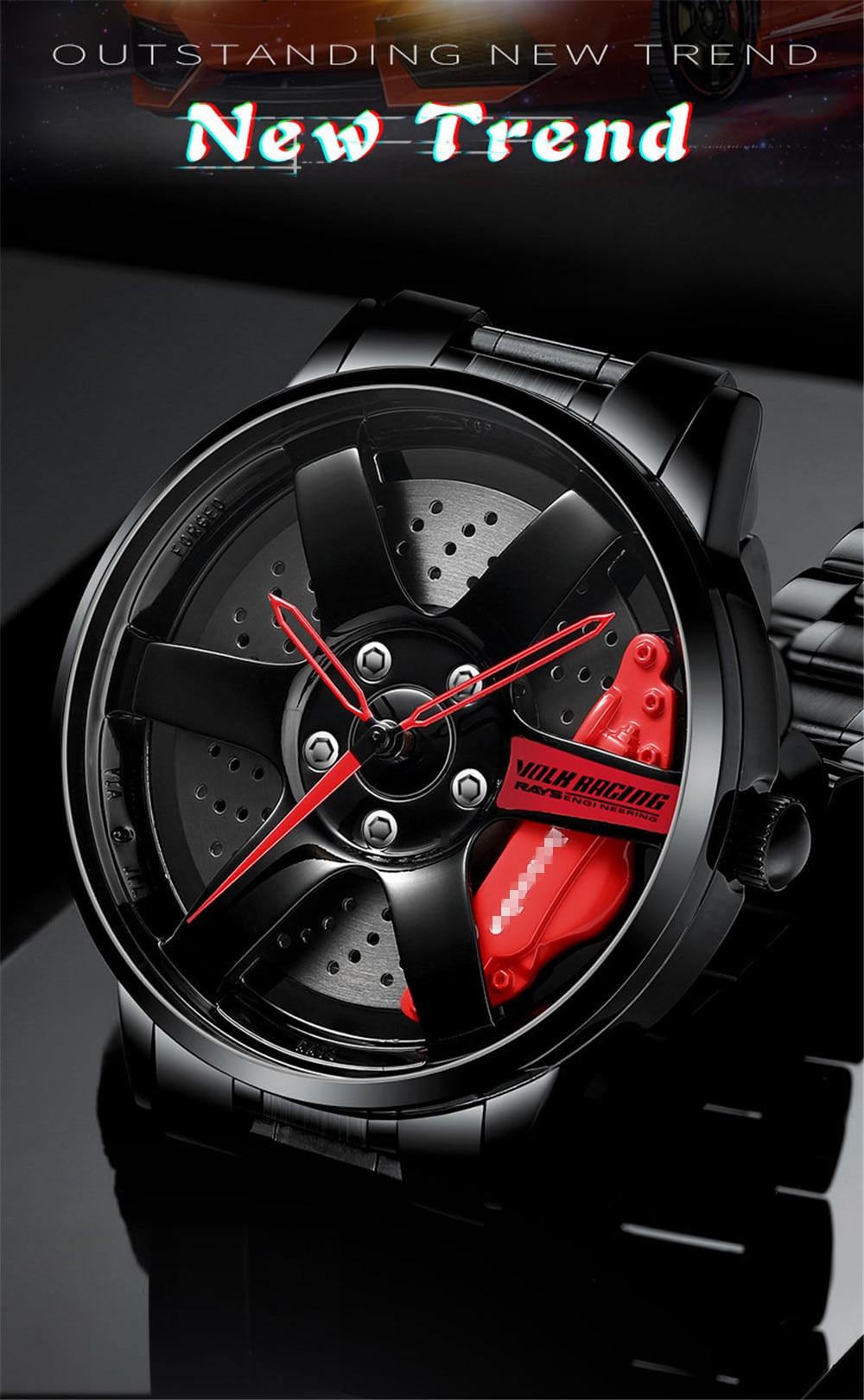 H71e94a1a9a6e4682bb0ca464bb03ea71V 2020 NIBOSI Wheel Rim Design Sport  Waterproof