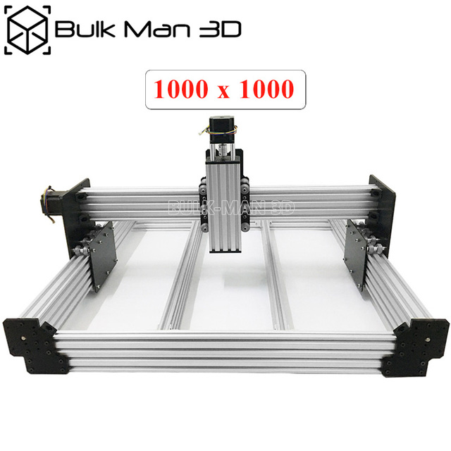 40x40 Inch Workbee CNC Router Machine Kit 4Axis Wood Metal Engraving Milling Machine with 175 oz*in Nema23 Stepper Motors