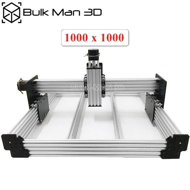 40x40 אינץ Workbee CNC נתב מכונת ערכת 4 ציר עץ מתכת חריטת כרסום מכונת עם 175 oz * ב Nema23 מנועים צעד