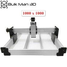 OX wersja do aktualizacji WorkBee CNC mechaniczne zestaw do DIY CNC grawerowanie maszyny, frezarka, wooding Router 1000*1000mm