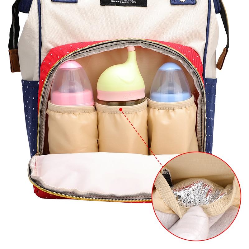 H71e9b25c44694104927e52d07215fbd9h Large Capacity Mummy Diaper Bags Zipper Mother Travel Backpacks Maternity Handbags Pregnant Women Baby Nappy Nursing Diaper Bags
