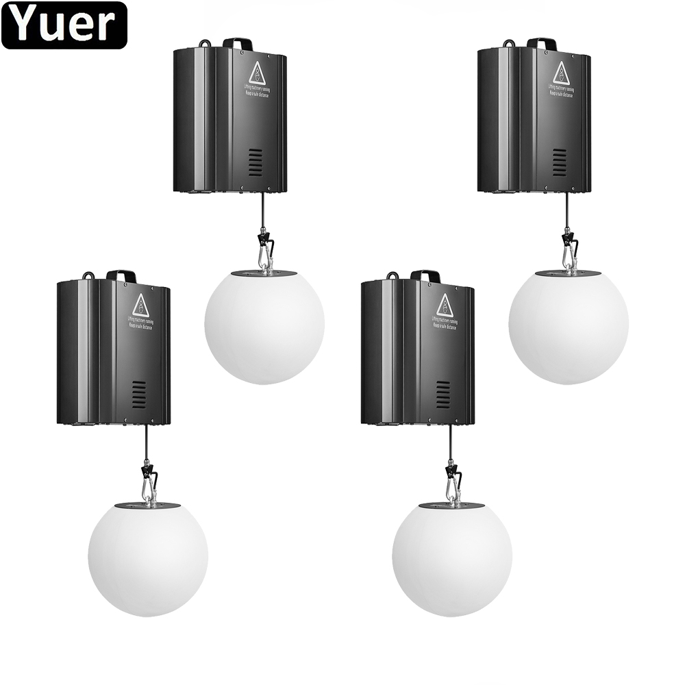 3D Lifting Ball 0-5M Optional Stage Lifting Effect Light DMX512 RGB LED DJ Disco Light For Christmas Party Lifting Ball Lights