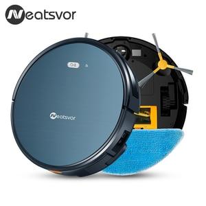 NEATSVOR X500 3000PA робот пылесос, 3в1 влажная сухая швабра, WIFI карта навигации, умная память, анти столкновения, робот Aspirador