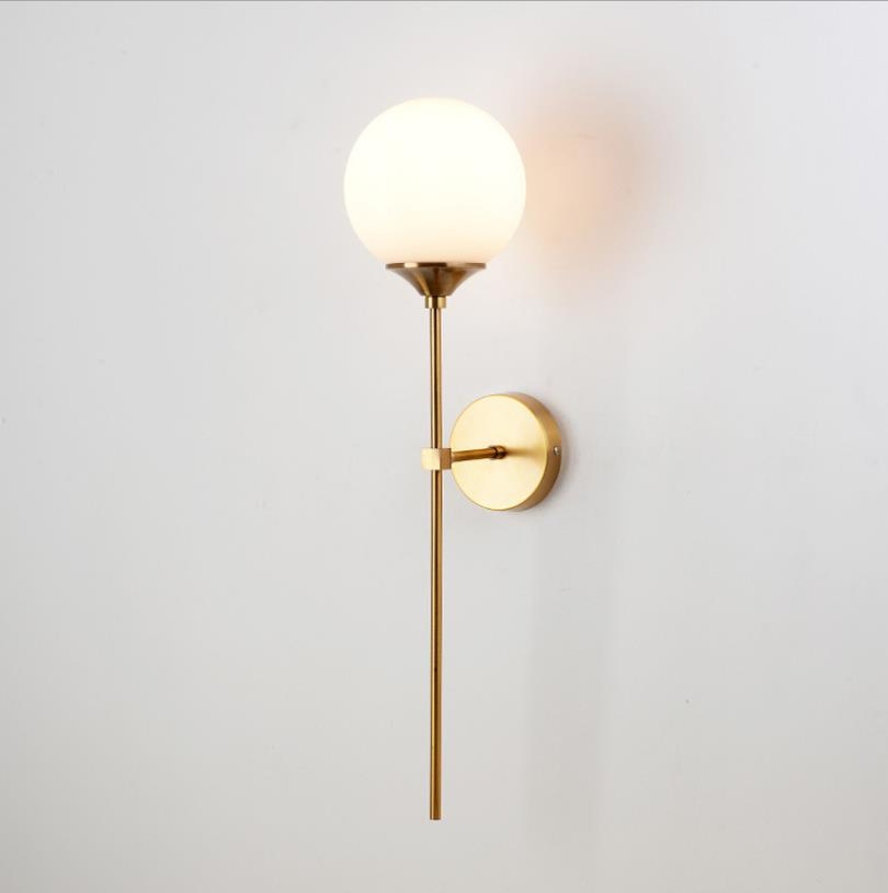 H71e9ee4537be4937a6465b8f94e44d12T - Modern Glass Wall Lamp Gold Led Wall Light Fixtures for Home Decor Bedroom Bathroom Mirror Lights Nordic Indoor Luminaire E14
