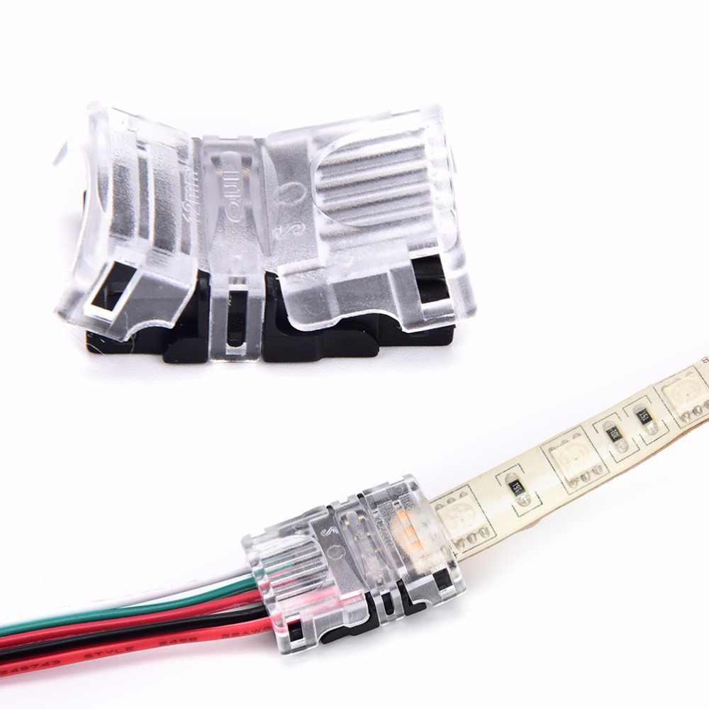 Новинка 5 Pin Светодиодные ленты для разъем провода детей возрастом от 12 мм RGBW RGBY