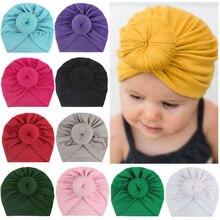 Детская вязаная шапочка шапки для новорожденных новые детские