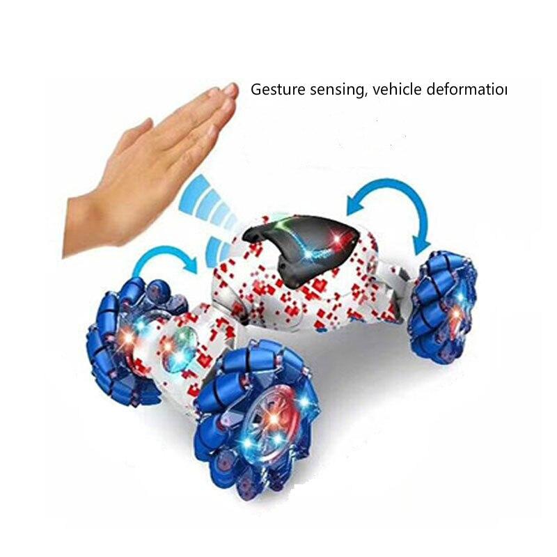 1/24 Радиоуправляемая машина, растущая стена, скалолазание, дрифт, автомобиль с жестами, вращающаяся машина, дрифт, игрушка для вождения автом... - 2