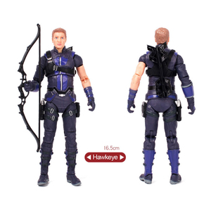Image 4 - Avengers Marvel Legends Hero Hawkeye Action Figure Doll Toys Model Joints Can Move Collection Gift Toy For Children Kids Boy