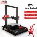 Новый Anet ET4 авто уровень 3d принтер размер 220*220*250 мм Высокая точность Reprap Prusai 3 трехмерная печать DIY 3d Принтер Комплект