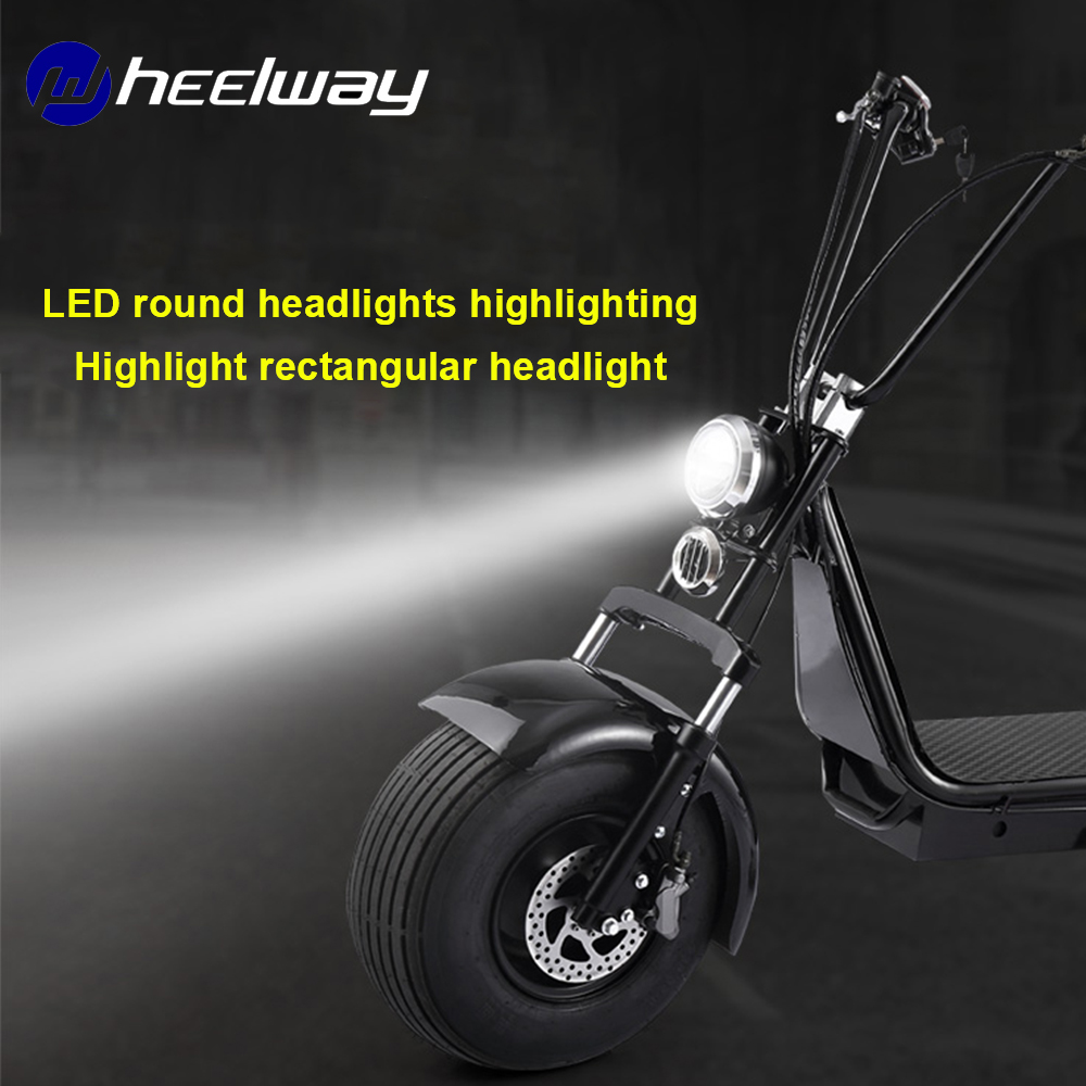 electric car modified rectangular battery head super bright high beam round headlights highlights lights LED spotlights Electric Bicycle Accessories     - title=