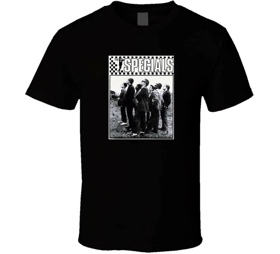 The Specials <font><b>1979</b></font> 2 Tone Ska Retro Vintag Black White <font><b>Tshirt</b></font> Men'S Free Shipping Apparel Casual  Tee Shirt image