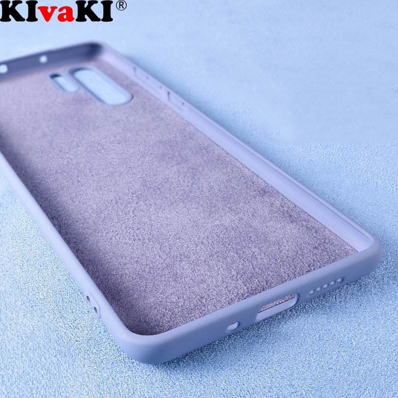 Luxury Phone Case For Huawei P10 P20 P30 Pro Mate 20 <font><b>Honor</b></font> 10 <font><b>9</b></font> <font><b>Lite</b></font> Liquid Silicone <font><b>Original</b></font> Cover For Huawei Nova 3i 5 4 E 2S image