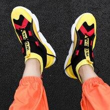 2020 novo clássico na moda alta topo maré meias sapatos de correspondência de cores esportes casual plana rendas casuais sapatos masculinos