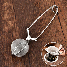 Creative Stainless Steel Ball Shape Mesh Tea Filter Reusable Bag Spice Home Kitchen Teaware Accessories