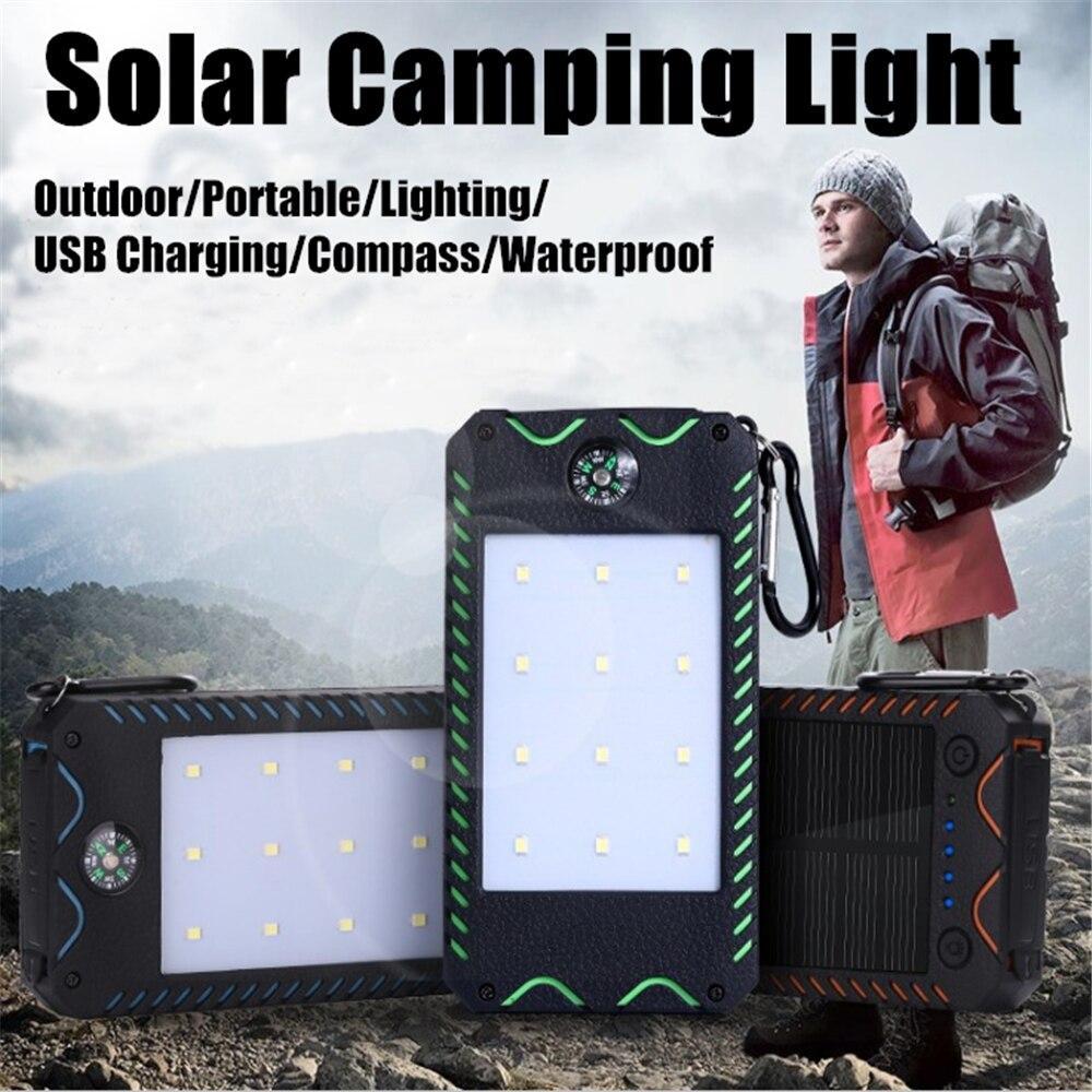Portátil led solar luz ao ar livre