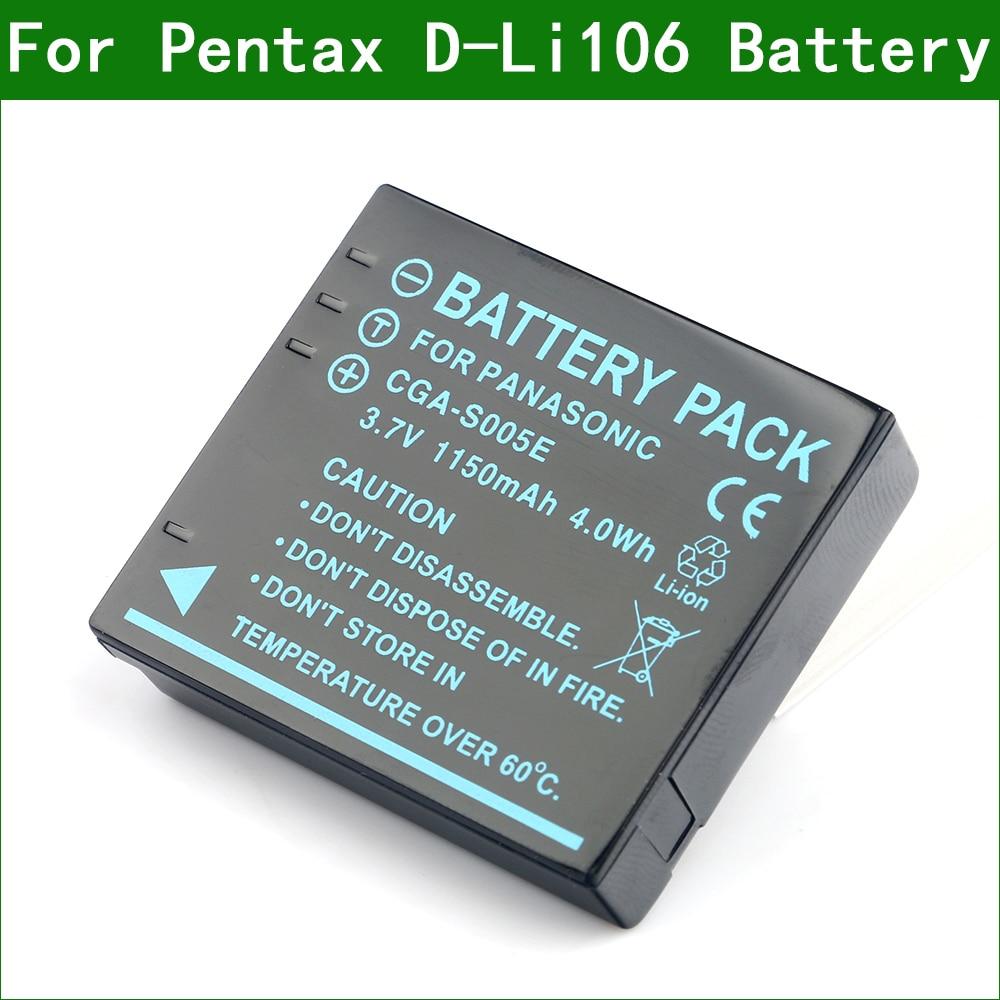 Lanfulang D-Li106 D-BC106 цифровой Камера Батарея для Pentax MX-1 X90