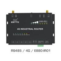4G беспроводной маршрутизатор RS485 Универсальный 4G Wifi проводной сетевой ebyte E880-IR01 gsm ethernet 4g lte Промышленный маршрутизатор 4G антенна