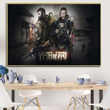 Game Escape From Tarkov Oil Painting on Canvas Posters and Prints Cuadros Wall Art Pictures For Living Room printio значок escape from tarkov