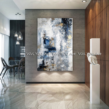 Large original Hand Painted Abstract Painting Modern abstract painting hand painted oil  wall art textured