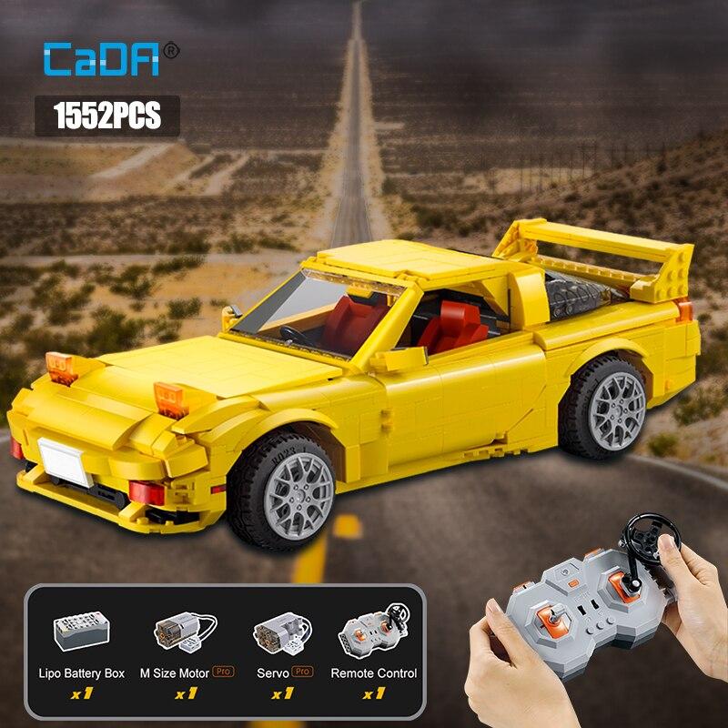 Cada City RC/non-RC Drift Racing Car, 1655pcs