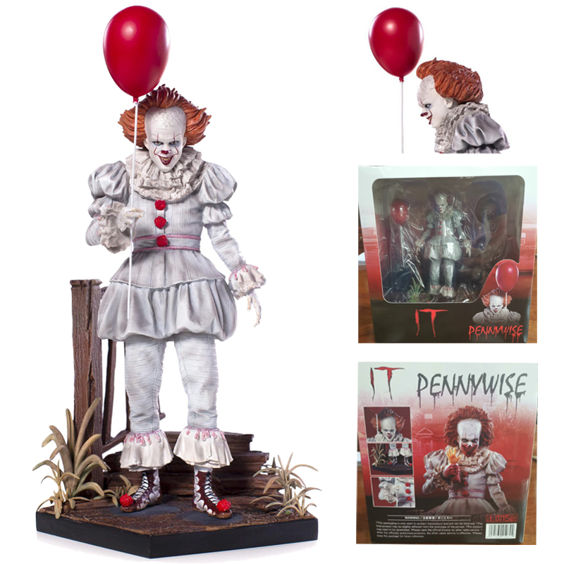 IT Pennywise Figure IT Joker Stephen King's Iron Studios PVC Action Figure Collectible Model Toy