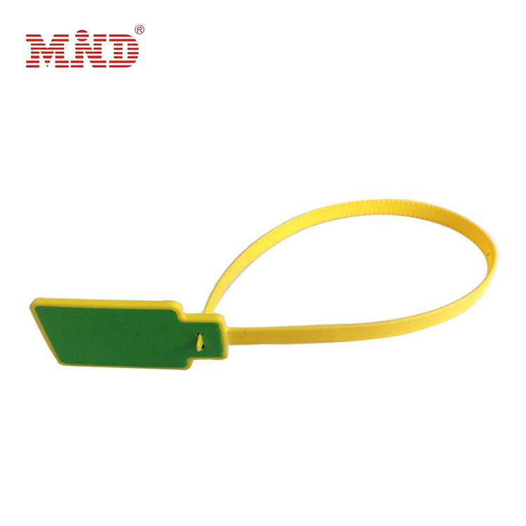 Ntag 213 13.56MHz Plastic One Off UHF RFID Seal Tags Cable Tie Tags Zip Tags For Inventory