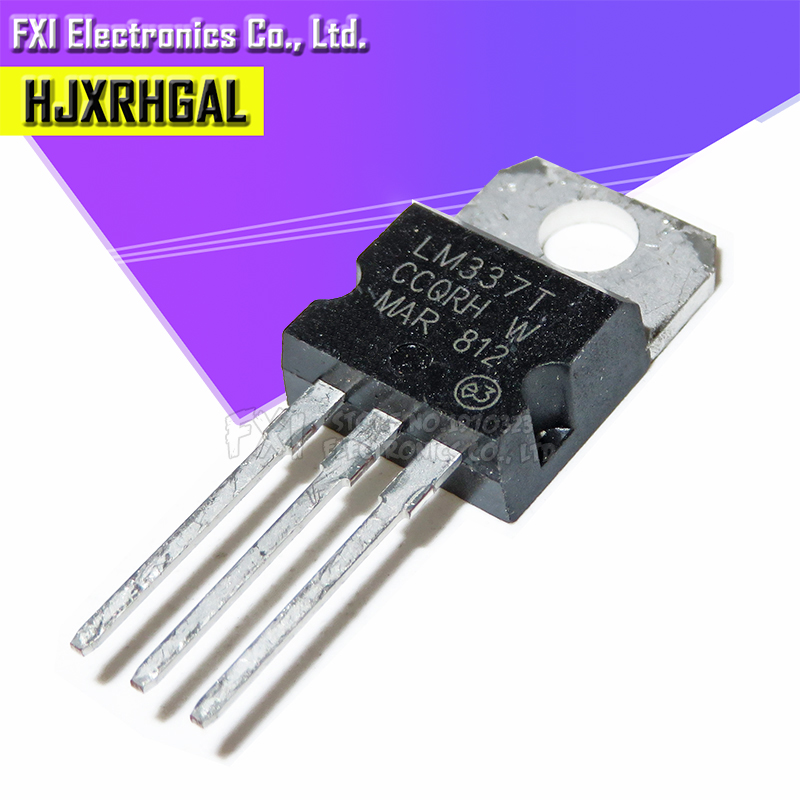 LM337T TRANSISTOR TO-220 LOT OF 10