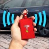 For Tesla model 3  accessories Turn fur Key card package driver s license book protector bank card storage Red brown black discount