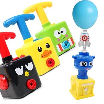 Balloon Launcher & Powered Car Toy Set 2