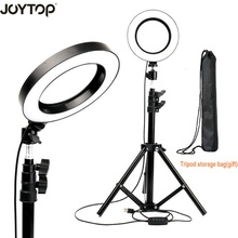 """16cm/6"""" Led Ring Light Lamp Selfie Light with Tripod for Video Makeup YouTube Live Stream for iphone Smartphone Makeup"""
