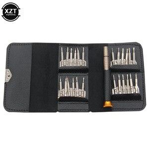 Набор ручных отверток Torx 25 в 1, кожаный футляр, для ремонта Iphone, часов, планшетных ПК|Наборы для ремонта мобильных телефонов|   | АлиЭкспресс