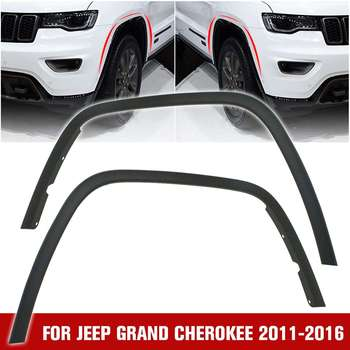 NEW Car Styling Front Left/Right Fender Flares For Jeep For Grand Cherokee 2011-2013 For Cherokee Overland CH1291106