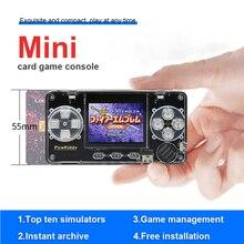 Powkiddy A66 레트로 핸드 헬드 게임 콘솔 내장 4000 게임 휴대용 미니 포켓 휴대용 게임 플레이어 2 인치 LCD 디스플레이