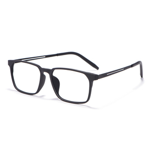 Image 5 - Okulary optyczne rama dla mężczyzn i kobiet 8878 Titanium elastyczne nogi z TR 90 plastikowe oprawki okularowe z przodu obręczy