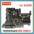 Tested Original 27 A1419 Motherboard 820-3298-A for iMac A1419 Logic Board With 512MB Graphic Card Late 2013 Year