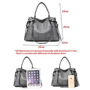 Image 5 - Dort marke echtem leder handtaschen frauen schulter taschen weibliche messenger tasche große kapazität damen casual trage tasche schwarz/rot