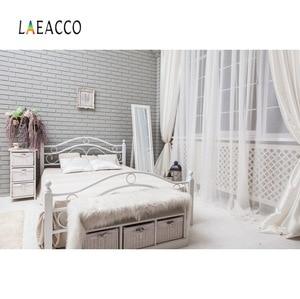 Image 5 - Laeacco cinza velho casa rural móveis decoração de casa do bebê pet retrato interior foto fundos foto pano de fundo para estúdio foto