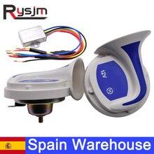 Испанский склад 2шт автомобильный динамик автомобильный 18 голоса тон музыкальный динамик s рога сигнализация 12В двигатель мотоцикл сигналь...