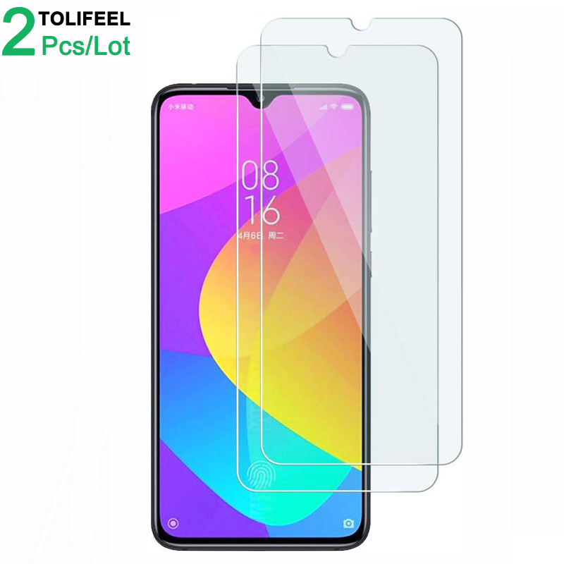2Pcs Tempered <font><b>Glass</b></font> For <font><b>Xiaomi</b></font> <font><b>Mi</b></font> <font><b>9</b></font> Lite <font><b>Screen</b></font> <font><b>Protector</b></font> 9H 2.5D Phone On Protective <font><b>Glass</b></font> For <font><b>Xiaomi</b></font> Mi9 Lite <font><b>Glass</b></font> image