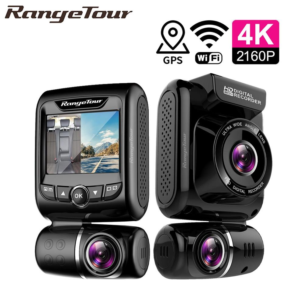 Mini Hidden 4K 2160P Dual Lens Car DVR WIFI GPS Logger Novatek 96663 Chip Sony IMX323 Sensor Dual Camera Dash Cam Recorder D20-in DVR/Dash Camera from Automobiles & Motorcycles