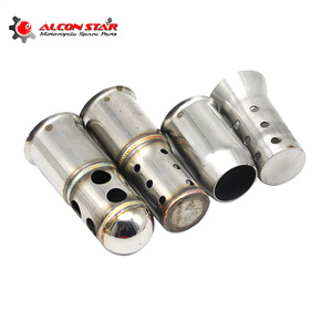 Alconstar- 50.8mm/60mm Motorcycle Exhaust Muffler Noise Eliminator DB Killer Silencer Pipe Scooter Dit Pit Bike Street Bike Race(China)