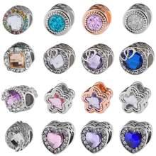 Чарм браслет бусы из натурального камня ювелирные изделия с