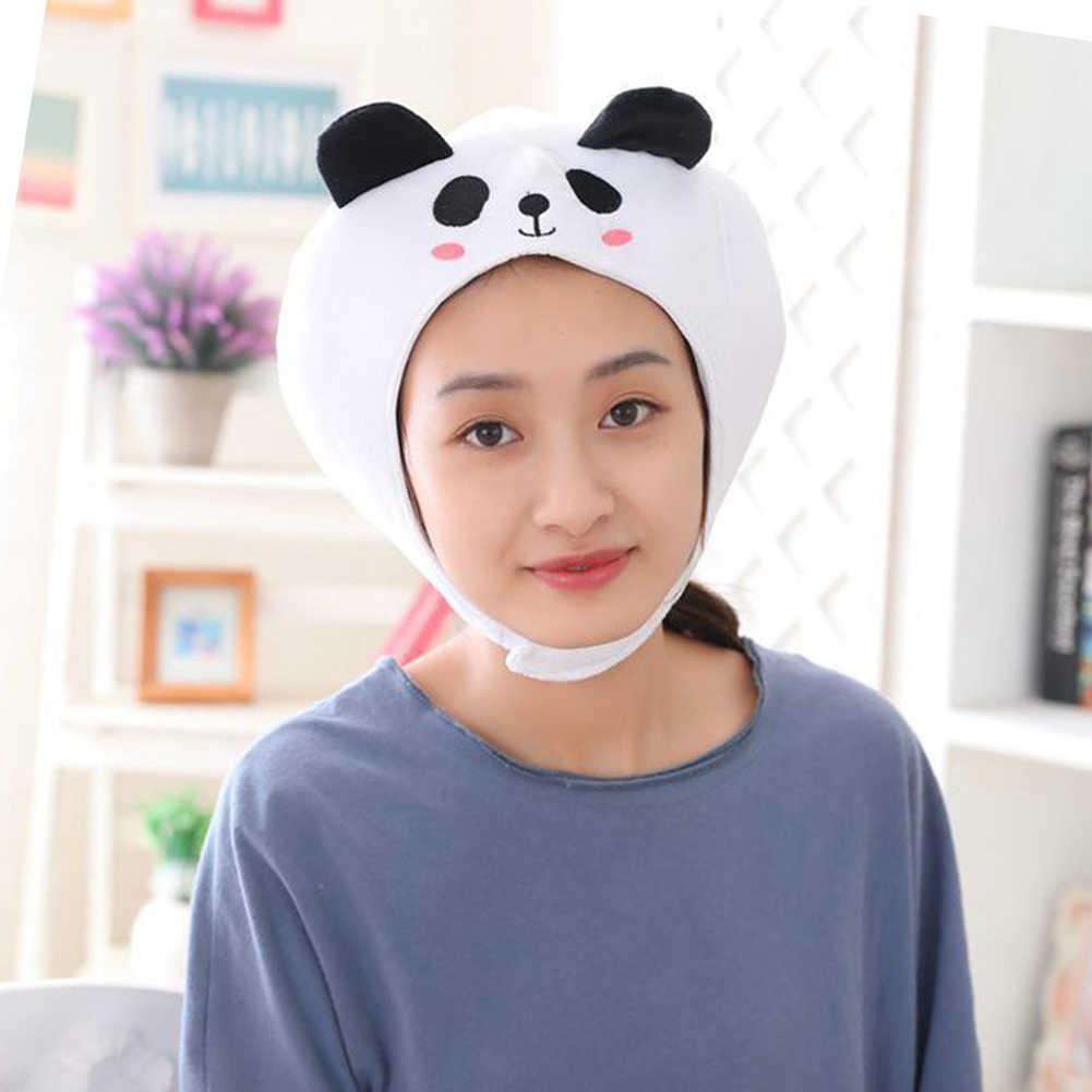 Leuke Panda Animal Oorklep Beanie Cap Hoed Hoofd Oor Warmer Cosplay Photo Props Cadeau Voor Kinderen Op Kerst Kostuum Warm pluizige