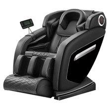 Espaço pequeno luxo corpo inteiro multi-funcional idosos dispositivo elétrico barato grande boné pé wrap deluxe zero-cadeira de massagem gravty