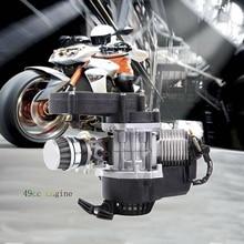 Pocket-Bike Engine-Motor Mototcycle Mini Samger 49cc Quad 2-Stroke Dirt Complete